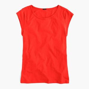 J. Crew Tops | Ballet cap-sleeve T-shirt